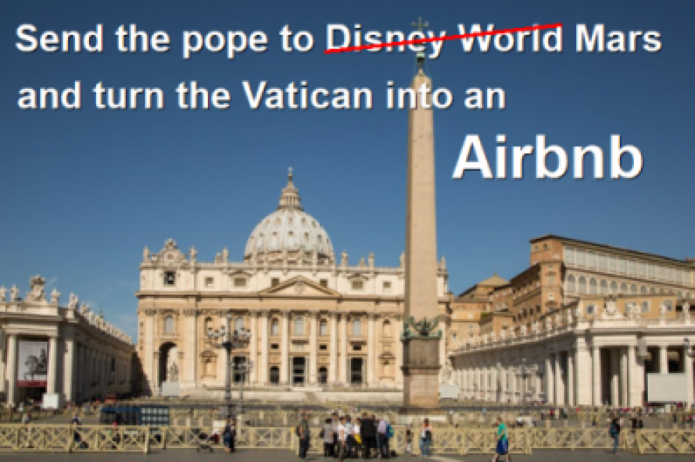 Send the pope